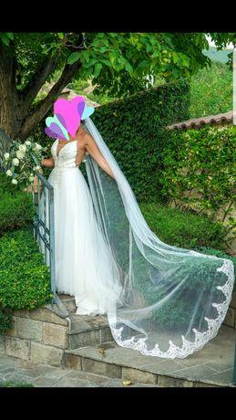 Булчинска рокля по модел Musse by Berta