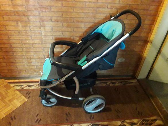 Детска количка hauck malibu xl 3 в 1