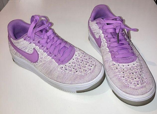Nike Air Force 1 Flyknit 2.0 purple