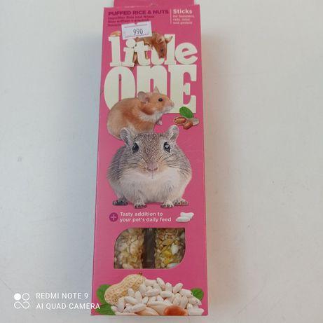 Палочки для хомяков,крыс,мышек Little one воздушные зерна и рис