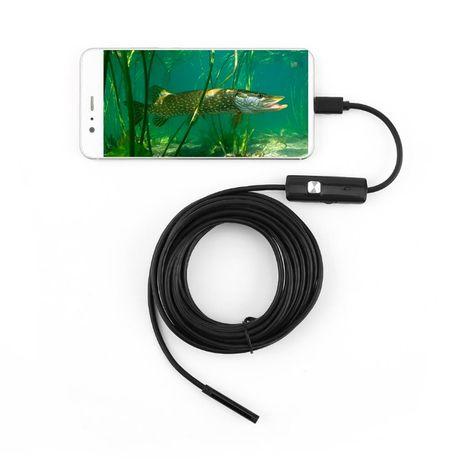 Камера (5 метров)/Эндоскоп Диагностика Двигателя/камера для рыбалки