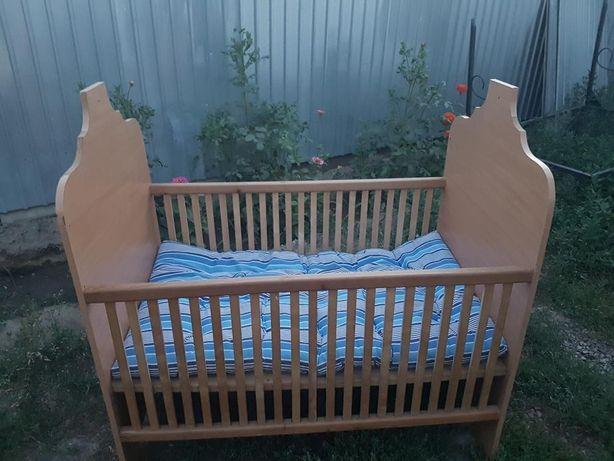 Детская кроватка ручная работа