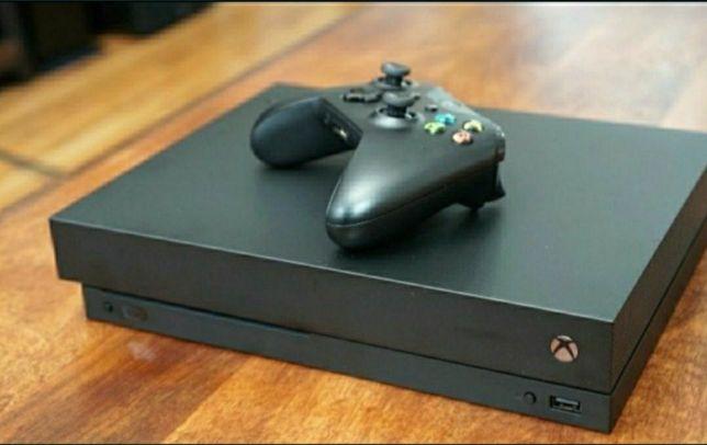 Xbox one X 1tb 4K UHD Wi-Fi 265игр 2диска подписка Ultimate