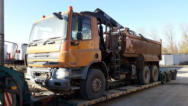 Dezmembrez cap tractor DAF 6x4