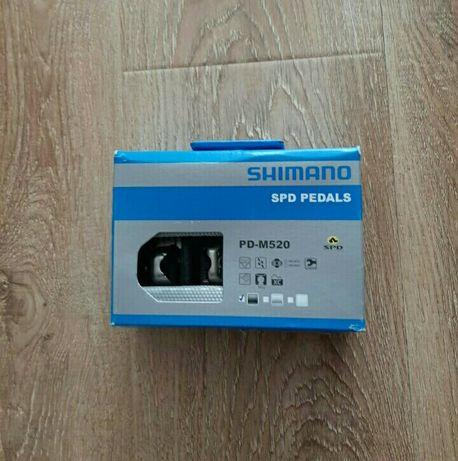 Педали контактные МТБ Shimano Spd PD-M520