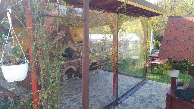 Inchidere terase cu transparent