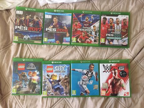Jocuri Xbox One diverse categorii si la pretul de cincizeci lei