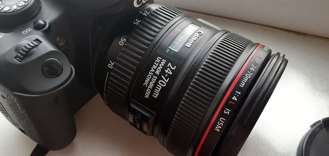 Объектив canon ef 24-70mm 4L