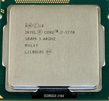 Intel Corei7-3770- 10шт Ivy Bridge -  (3400MHz, LGA1155, L3 8192Kb)