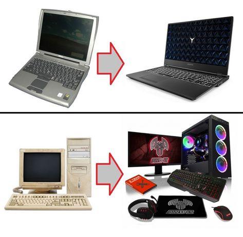 обновяване на компютри и лаптопи с изкупуване на старата техника