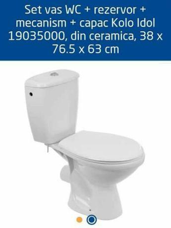 Set wc rezervor capac racord flexibil nou