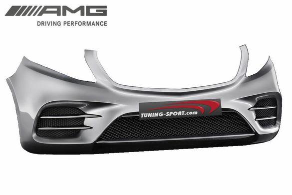 Броня предна и задна за Mercedes V-class W447 AMG Edition