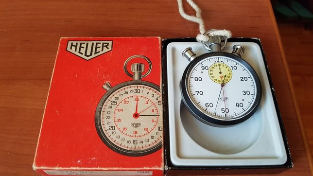 Ceas,cronometru mecanic HEUER foarte vechi