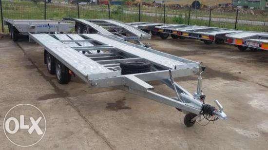 Inchiriez/inchiriere platforma trailer 8m,5m ,4,5m,4m si 3m bagaje