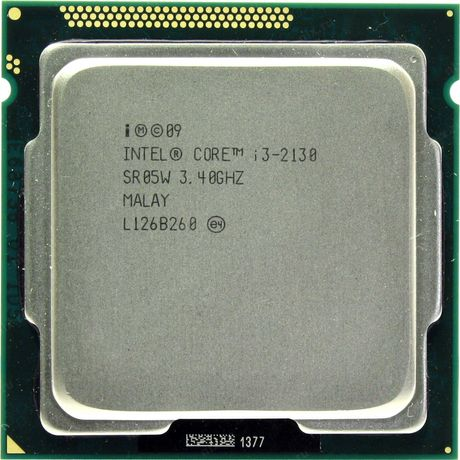 Intel Core i3-2130, 3.40GHz/ 3Mb/ 2C/4Th 65W/ LGA1155/ Sandy Bridge/