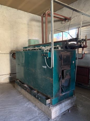Centrala termica pe lemne, cazan 200 kw
