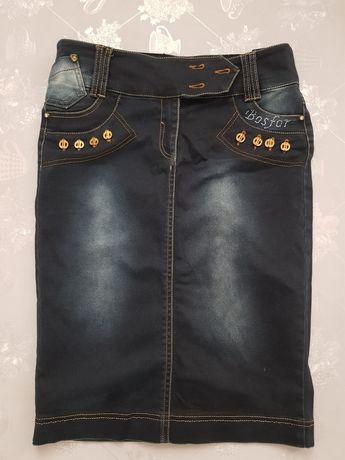 Джинсовая юбка продам