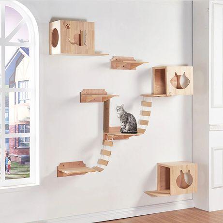 Casa / Loc de Joaca pentru Pisici Construcții din Lemn Personalizate