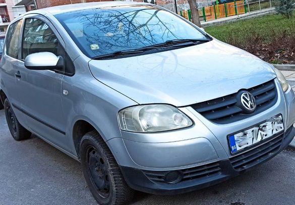 ФОЛКСВАГЕН ФОКС 1.2 бензин климатик цял за части VW Fox