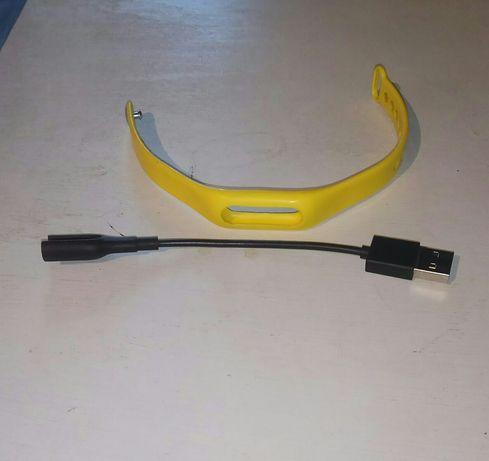 Силиконовый браслет и зарядный кредл от Mi band 1 - 1s