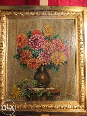 Vand tablou vaza cu flori