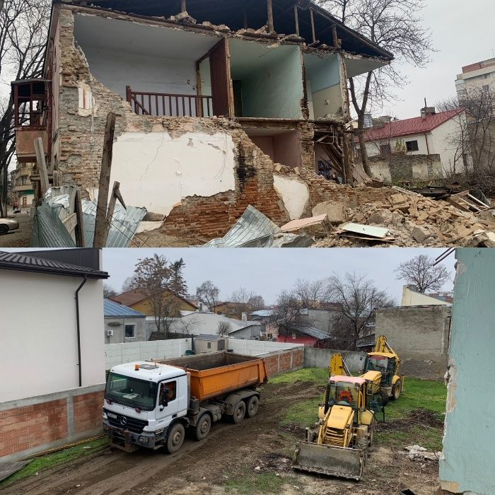 Demolari , demolare casa , demolari case , pamant galben , demolare