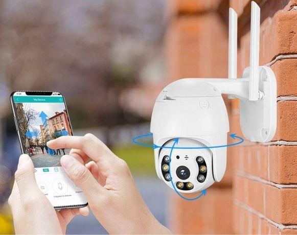 Онлайн WiFi камера Уличная и Внутреняя,просмотр с телефона,ус под ключ