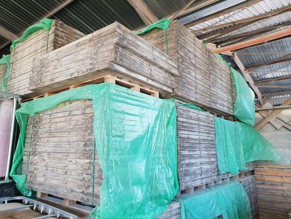 Дървени дъски с метален кант RHETENMEIER