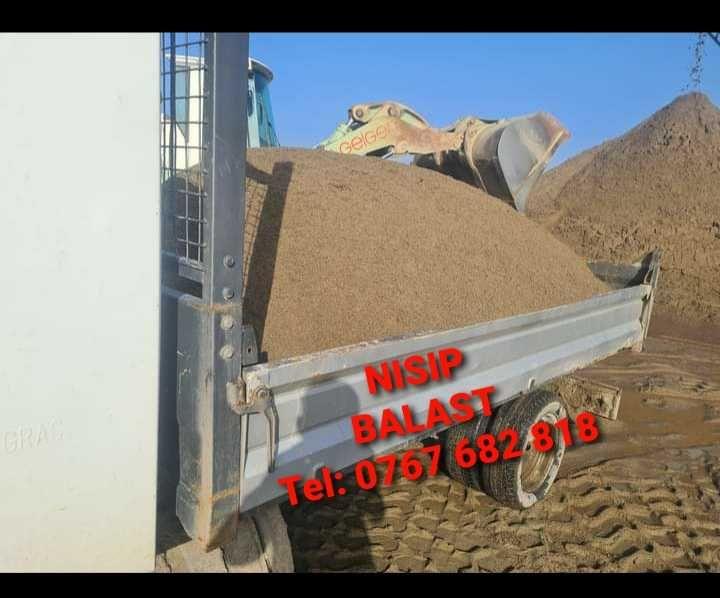Transport basculabil-nisip,balast,pământ,sorturi, moloz...