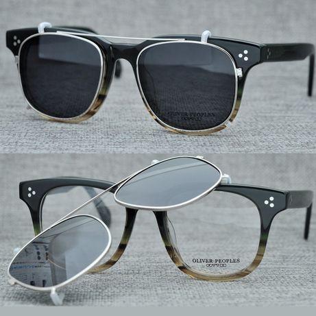 Oliver Peoples 5236. Clip On. Оптические, солнцезащитные очки 2 в 1.