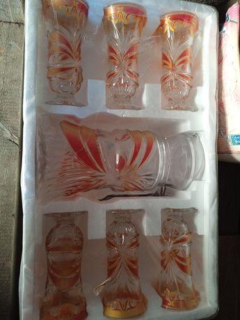 Набор из 6 стаканов и графина