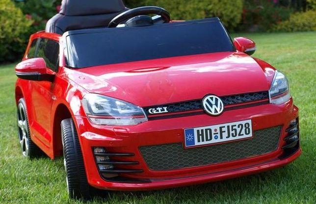 Masinuta electrica Kinderauto VW Golf GTI 2x30W 12V STANDARD #Rosu