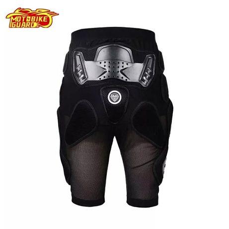 Pantaloni cu protectii moto