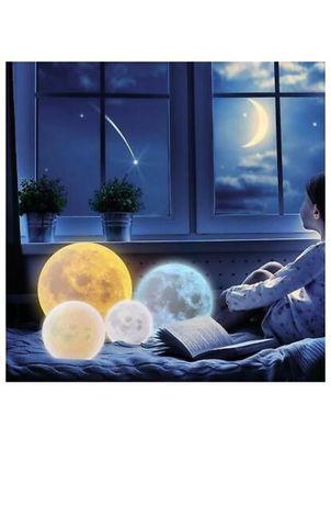 3DЛампа Impostore Луна,LED,Портативнa ,10см.25лев-15-40-лев 20см55 лев