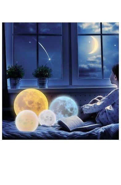 3DЛампа Impostore Луна,LED,Портативнa ,10см.25лев-15-40-лев 20см55 лев гр. Благоевград - image 1
