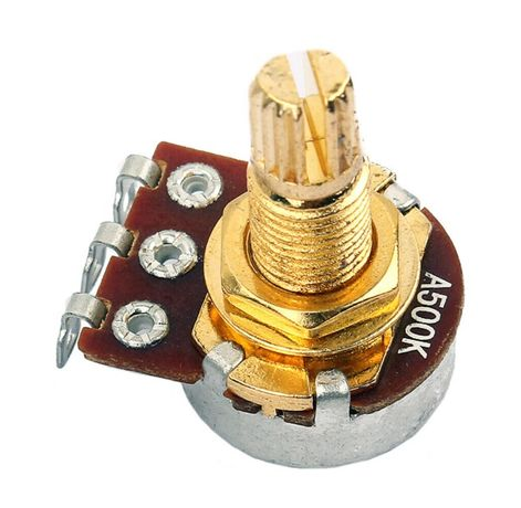Potentiometru chitara electrica bass volum ton A500K ohm