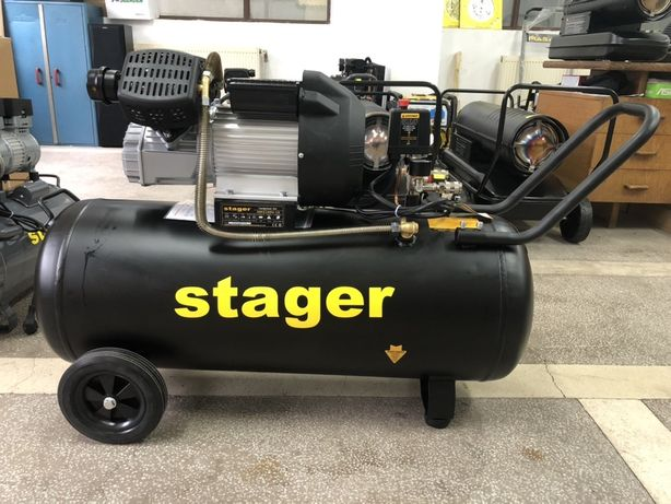 Compresor Aer Stager HM3100V-10, Ideal Pompa Tencuit(cancioc), 10 bari