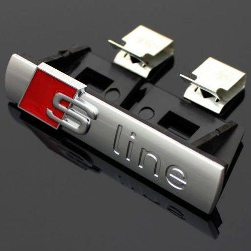 Емблема S line за предна решетка матова.