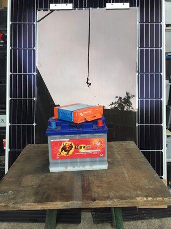 ТОП ПРОМОЦИЯ !!! К-т соларна система,панел,батерия,контролер и др.