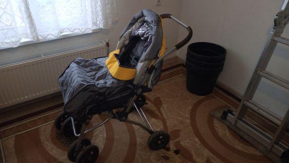 Бебешка/детска количка комбинирана Чиполино