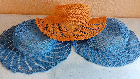 Ръчна изработка Много красиви шапки (капела)