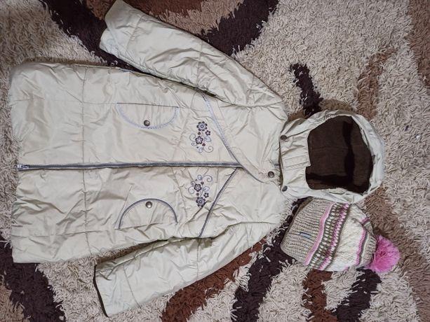 Зимняя куртка и шапка Kerry.
