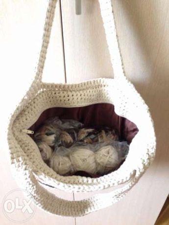 Дамски чанти, ръчна изработка, 100% памук