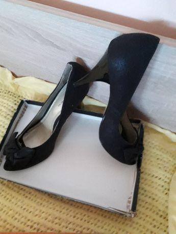 pantofi cu toc Square mas. 38