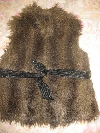 Рошав елек от изкуствен косъм