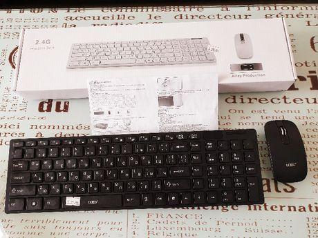 Намалена от 37 лв- Тънка безжична клавиатура и мишка