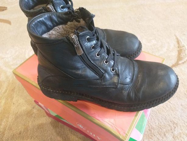 Обувь на мальчика Кожа фирма Кемаль Пафи