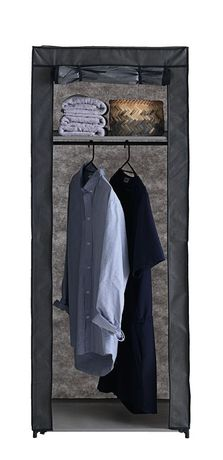 Текстилен гардероб-60х46х150 см.