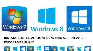 Reparatii pc laptopuri service calculatoare routere wfi instal Windows