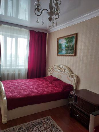 Сдам квартиру посуточно  ЖК  Мереке ул Аблайхана 5/3  цена 7500т